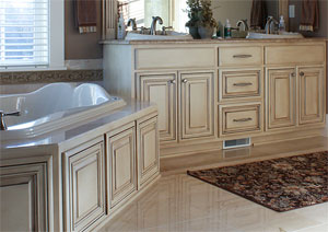 Bathroom Cabinets with Tub