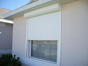 Roll-Down Hurricane Shutters