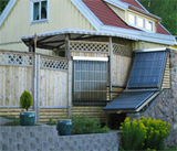 Balcony Solar Water Heaters